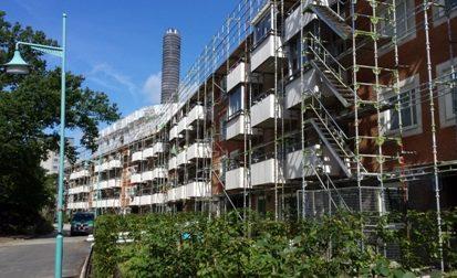 Ombyggnad av flerbostadshus mm i Sundbyberg